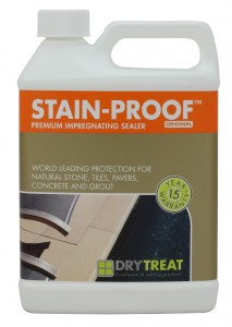 STAIN-PROOF Dry-Treat Becsherming Steen